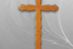 №7 Кръст - вълнообразен -лукс
